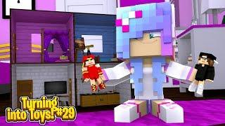 Minecraft Toys #29 - THE LITTLE SISTER TURNS ROPO & JACK INTO GIRLS!!