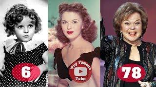 Shirley Temple | Transformation From 1 To 78 Years Old