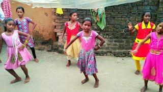 Dunguripali village school girl - sambalpuri dance realsel video - new 2018