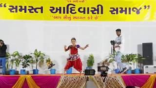 Aadivasi girl Shraddha Patel dance performance ॥ Vanskui