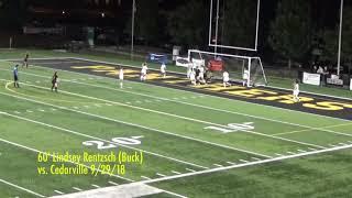 2018 Ohio Dominican Women's Soccer Top Plays