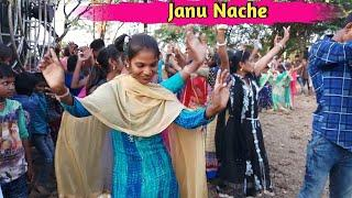 Janu Nache...Song Mix  || Rockstar Timli Dance || Beautiful Girls Dance  || Arjun R Meda