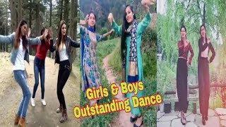 Girls And Boys Dance || Pahari Tik Tok || Pahari Natti || PN