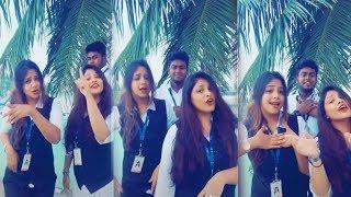 செம்ம கலகலப்பான கலக்கல் டப்ஸ்மாஷ் வீடியோ | Tamil Girls Dubsmash video | Tamil Dubsmash | Musically