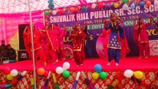 Best girls  dance from Shivalik Hill Public Senior Secondary School Amb.