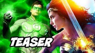 Wonder Woman 1984 Teaser - Justice League 2 Details Breakdown