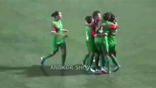 BANGLADESH vs BHUTAN 4-0 - HIGHLIGHTS - SAFF U18 WOMEN 2018