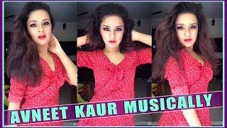 Cute Avneet Kaur New Musically Video Compilation 2018 - Cute Indian Girls Musically - Top Musically