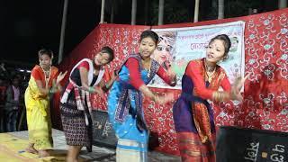 Assamese Song Dance | Local Girls Dance | Rista TV Local Channel 3