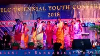 Bandarjori Hostel Girls Dance Maharo Youth camp Dumka//2018