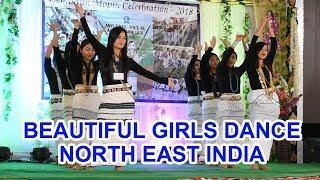 Beautiful Girls Dance North East India