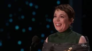 Olivia Colman's 2019 Oscar Acceptance Speech for Best Actress