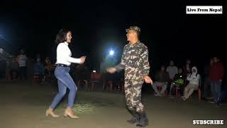 Nepal Army Dance with Hot Girl