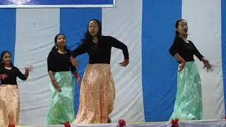 Pasighat Presbyterian Church Youth girls dance on Nepali Gospel Song