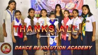 Dance revolution Academy ..Teri Aakhya ka yo kajal Sapna Choudhary song ..girls dance
