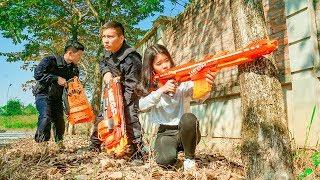 NERF WAR MASTER: Special S.W.A.T Nerf Guns Confrontation Armed Forces Rescue Girl Love