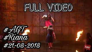 FULL VIDEO - The Sacred Riana  Creepy Magic Girl vs  Creepy Magic Girls   America's Got Talent 2018