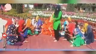 Girls dance on haryanvi Geet