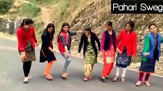 Beautiful Girls Dance 2018 || Pahari Dance Video || Sirmouri Nati || Pahari nati ||