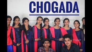 Rocking dance perfomance by girls of st.xavier's|Girls dance|Chogada tara|Fusion Dance