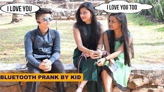 Kid Flirting With Cute Girls- Best Bluetooth Prank | Pranks In India | The Japes