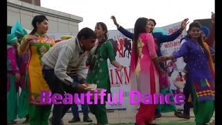 Beautiful Funky Girls Group Dance Performance On Vailpuna | Latest Punjabi Dance Video 2018