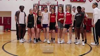 Worthington Christian Girls' Basketball Music Video 2018-19