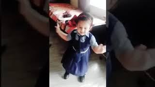 Indian cute baby girl dancing | Small girl dancing