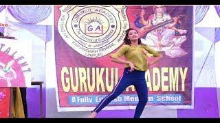 Girls dance Deepavali program Gurukul Academy Kishangarh Renwal 2019 Neeraj film studio Renwal