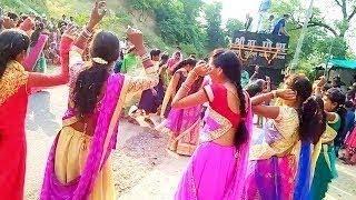అమ్మాయిల కులుకు భజన డాన్సులు village girls dance  My village events