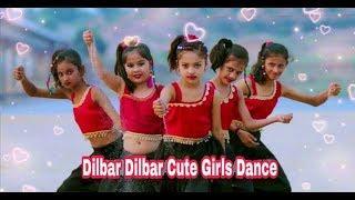 Dilbar Dilbar Cute little girls dance | Dilbar Dilbar full HD song by Cute kids girls|satyamev jay