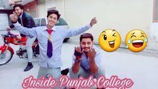 Inside Punjab College Girls Boys TikTok Musically Video| Part 14 | Lahore Punjab Group College