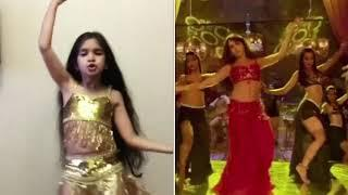 Dilbar Dilbar dance with Nora / Little girl from Russia ???????? ????????❤️