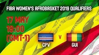 LIVE ???? - Cape Verde v Guinea - FIBA Women's AfroBasket - 2019 Qualifiers