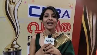 തൊട്ടതെല്ലാം പൊന്നാക്കി ഐശ്വര്യ ലക്ഷ്മി | VANITHA FILM AWARDS 2019