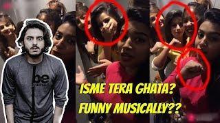 4 VIRAL GIRLS TERA GHATA | MUSICALLY ISME TERA GHATA | MOST VIRAL TERA GHATA
