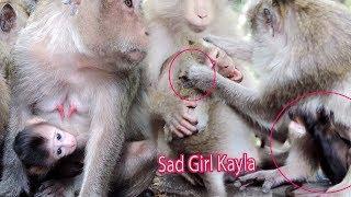 Poor Girl Kayla Love Her Sister Baby Hybrid Kaya But Mama Kayoy Warning Kayla All Times / PTM 1067