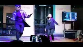 Dance competition boy versus girl Blue Hai Pani Pani 2019 video