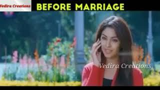 Before marriage vs after marriage girls love