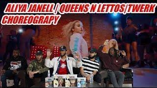 Aliya Janell| Queens N Lettos| Twerk City Girls Ft.  Cardi B Choreography Reaction/Review