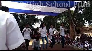 A.N +2High School Pilid Independence Day || Girl's Dance Programme || 2018