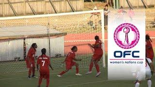 2018 OFC WOMEN'S NATIONS CUP HIGHLIGHTS | Tahiti v New Caledonia