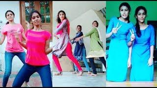 Kerala Collage Girls Tamil Kuthu Dance | Musically Tamil Queens
