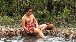 New Short film- The Sister In Law Shower Swimming Pool In Jungle