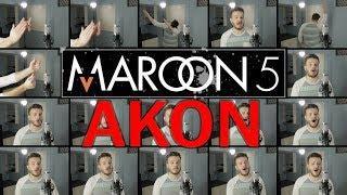 Maroon 5 / AKON (ACAPELLA Mashup) - Girls Like You, Don't Matter