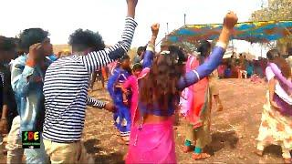 Stylish Girl Timli Dance | Real Voice Timli Dance | Adivasi Timli Video | Arjun R Meda 2019