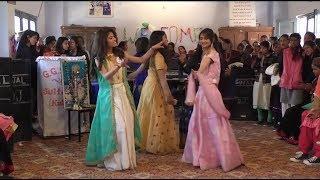 Girls Dance Govt Girls Sen Sen School Sultanpur Kullu Farewell Party Girl School kullu Him Stars