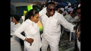 Saheed Osupa, big boys & girls dancing,enjoying themselves at billionaire Doro's wife birthday party
