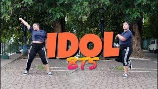 FAT GIRL DANCES TO 'BTS (방탄소년단) IDOL' DANCE COVER PH || SLYPINAYSLAY