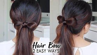 HAIR BOW TUTORIAL ♥ Easy Hairstyles for Girls